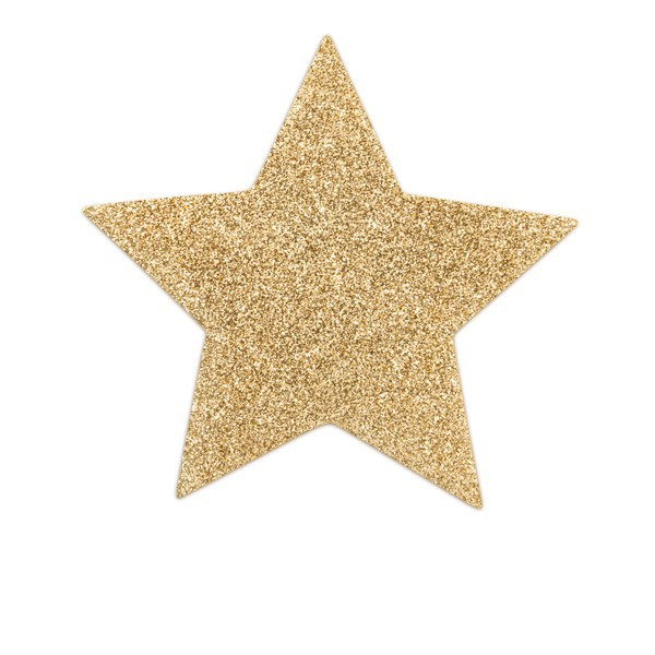 brystsmykke gold star